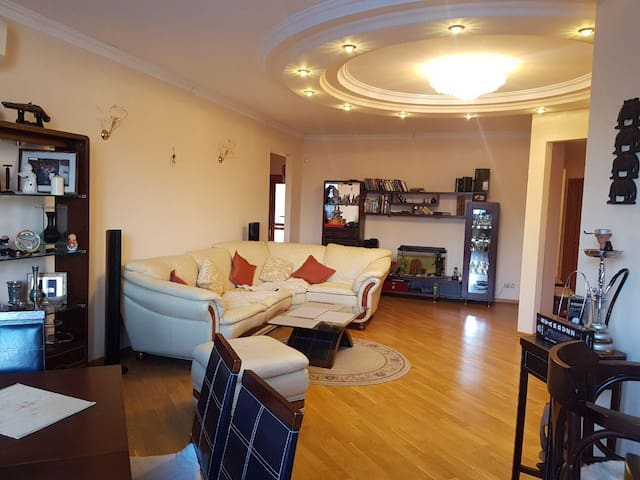 Luxury Apartment near Moscow City Center (110sq.m)
