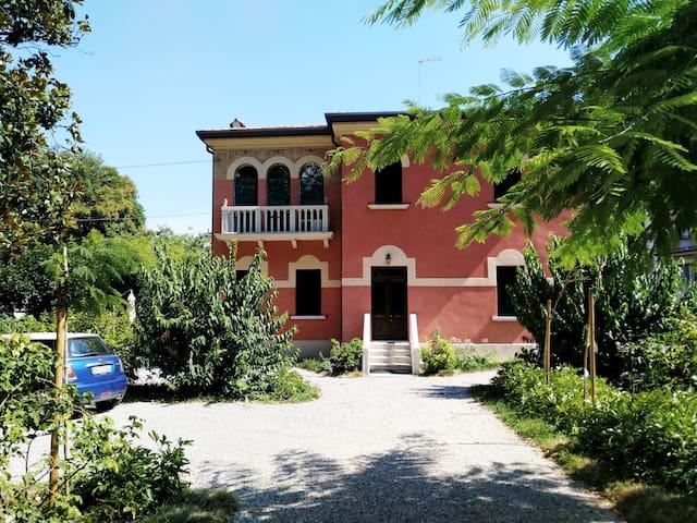 In Villa 2 BDR new flat w/garden also mid term+🅿