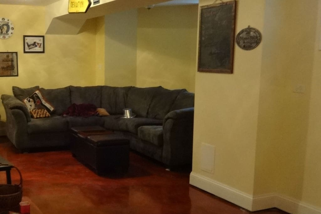 tv and couch room