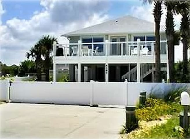 Oceanfront Private 5 Bedroom House August Specials - New Smyrna Beach - Dům