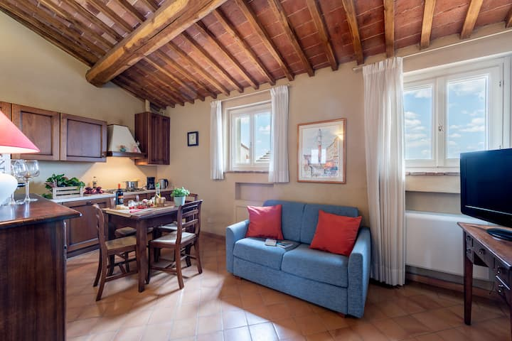 "Apartment in historic Villa in Siena_""IL MANGIA"""