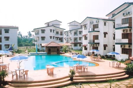 SELF CATERED APARTMENT IN A RESORT - Baga