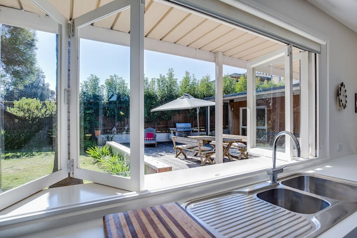 Portsea Place - fantastic outdoor living - Portsea - Hus