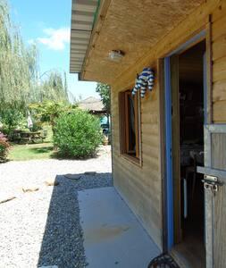 Chambre-bungalow 2 places entre mer et montagnes