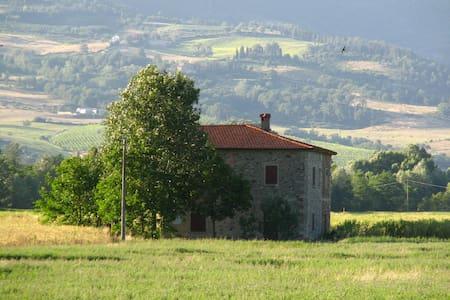Una casa indipendente fra i campi - Bibbiena - Rumah
