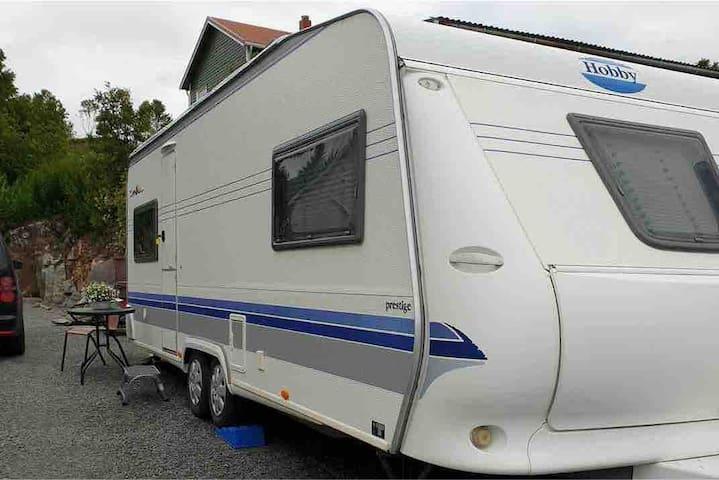 Campingvogn/caravan  -Lofoten