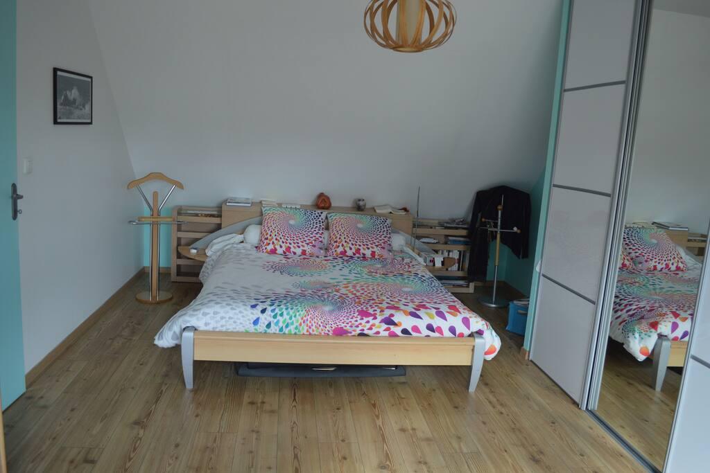 Chambre 1 de 24 m2 pour les parents