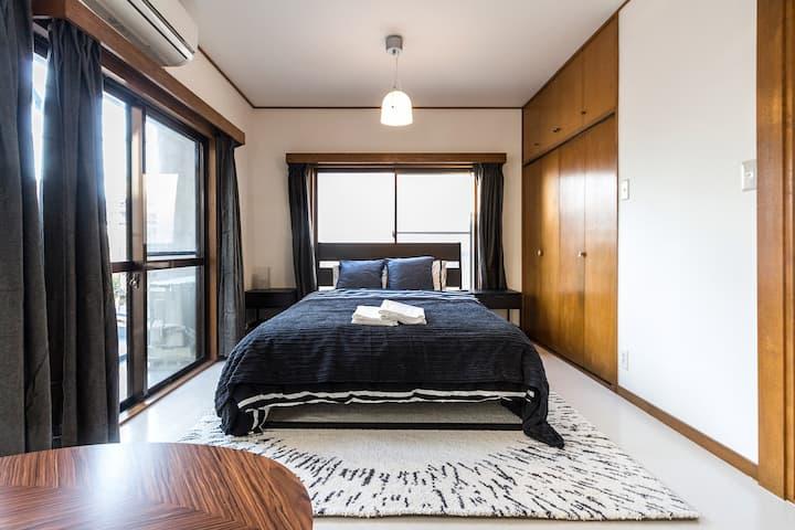 #GR1 Light Filled 2 BR Ikebukuro Large Apartment