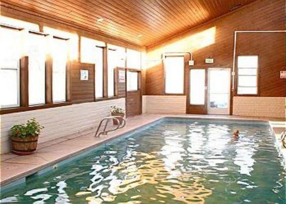 Pool Fun - You'll feel like a kid again after splashing around in the community pool.