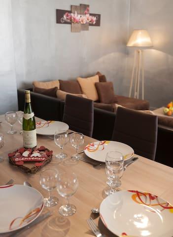 Gite les cigogneaux - Gîte Crémant - Turckheim - Appartement