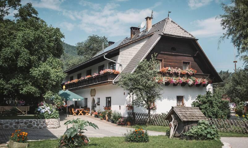 Urlaub am Bauernhof Feldbauer, Zimmer Kamin