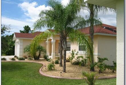 Rosejay Villa, Pool, lake, No outlet road, Private - Rotonda West