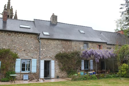 Charming family house 12 persons - Les Iffs - Dom