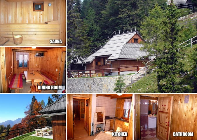 Luxury cottage on Velika planina - Velika Planina - Cabin