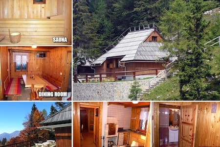 Luxury cottage on Velika planina - Velika Planina - Srub