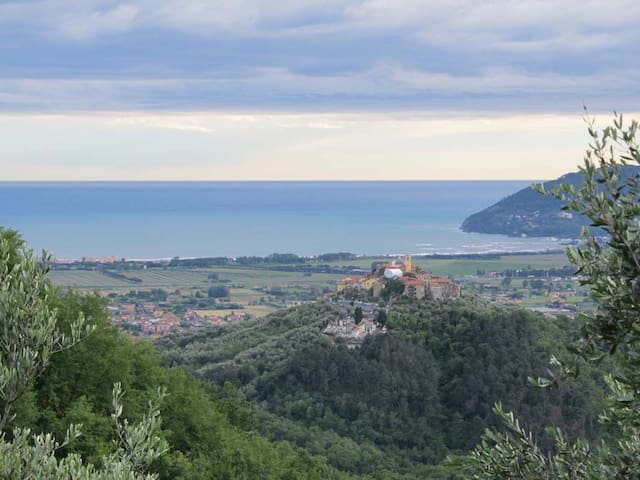 In collina, tra il Mar Ligure e le Alpi Apuane - Ortonovo - Apartment