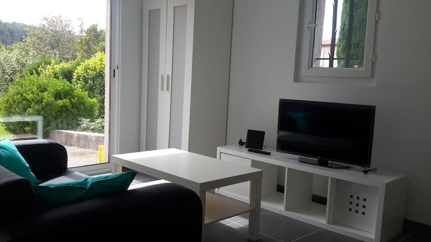 studio dans propriété avec piscine - Cabriès - Villa