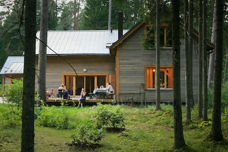 Forest Cabin 35 km from Riga Center - Baldones lauku teritorija