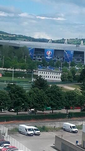 Appartement  vue sur Stade Geoffroy Guichard