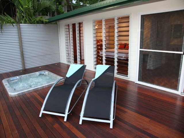 Private Jacuzzi on private balcony