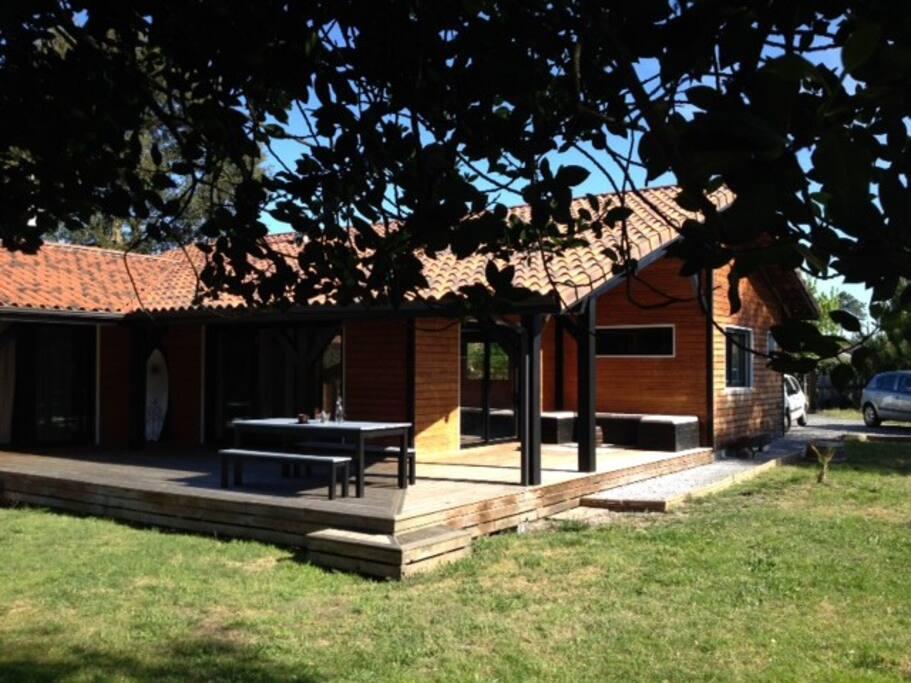 Maison de 125 m2 sur terrain privé de 890m2