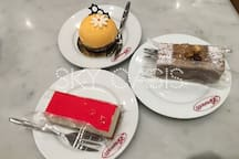 Brunetti is a must place to visit especially to satisfy your night time sweet tooth cravings