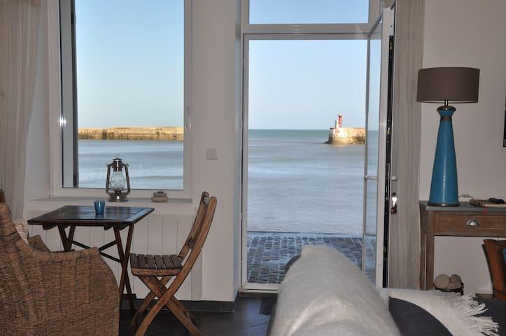 Les Trois Moussaillons*** sea view - Port-en-Bessin-Huppain