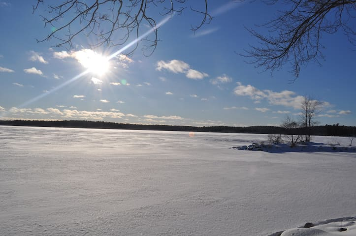 Snowmobile trails are close for the snowmobile enthusiast