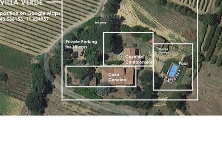 BIG QUIET HOUSE INTO TUSCAN WILD - Terranuova Bracciolini - Villa