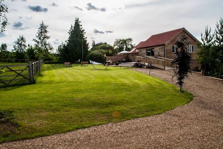 Cuckoo Barn Lodge - Oakham - Casa