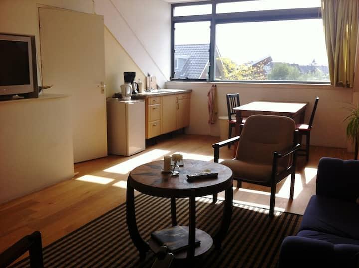 Ruim appartement (40m2) bij Utrecht