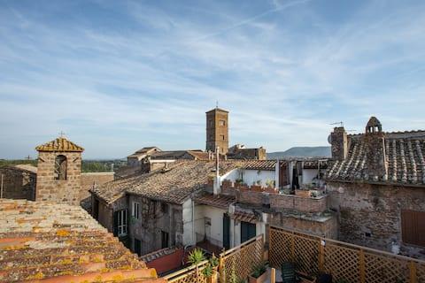 Flat in Agneni Palace -Sutri- near Rome & Viterbo