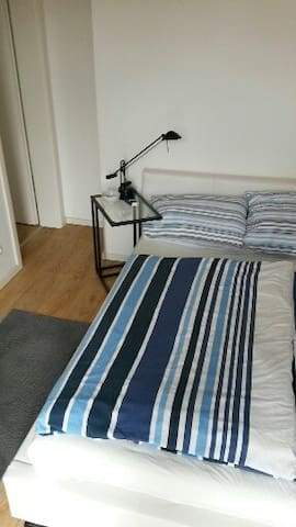 room with a balcony, pickup serv. - Neu-Isenburg - Appartement