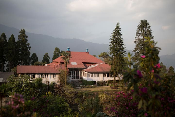Heritage bungalow for groups | Goomtee Tea Estate