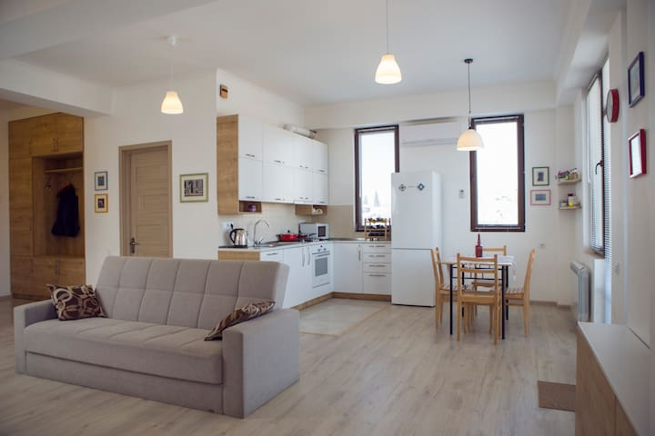 Modern Apartment in Old Tbilisi