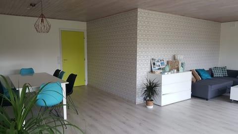Een gezellige kamer, op 9 km van Legoland / Billund.