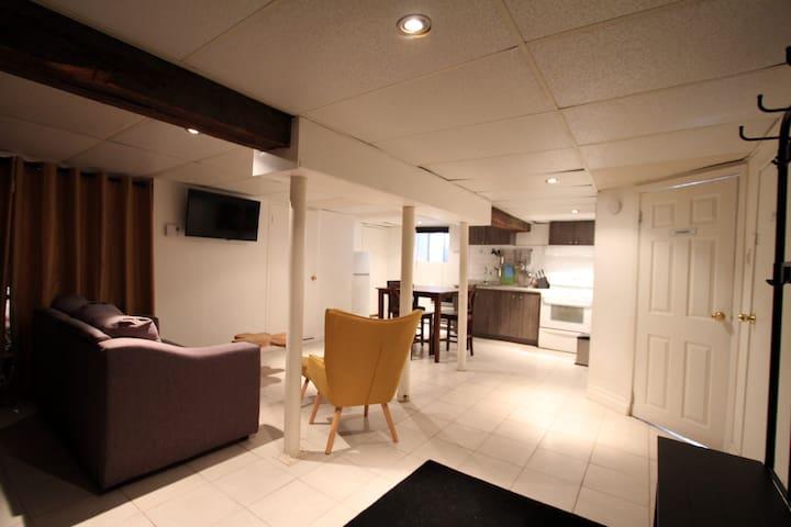 appartement au calme et dans un quartier sympa