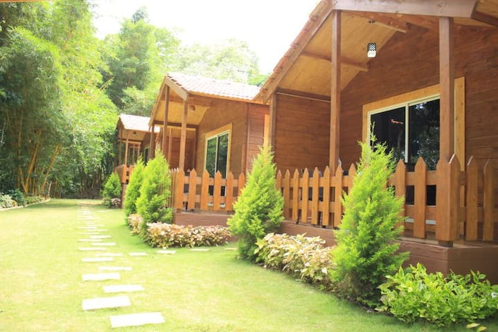 Planters Wooden Cottage In South Coorg