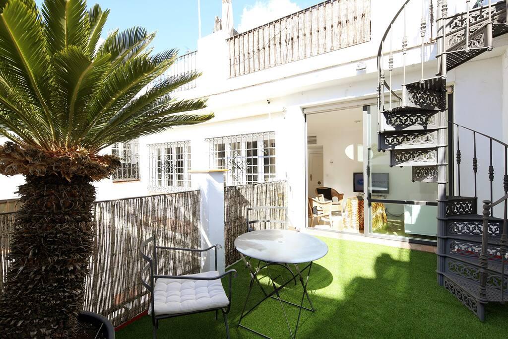 Plaza nueva terraza tico con terraza privada lofts en - Loft en sevilla ...