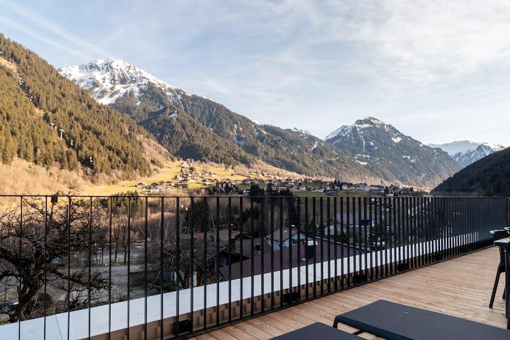 Montafon, luxury penthouse near ski slope - 11