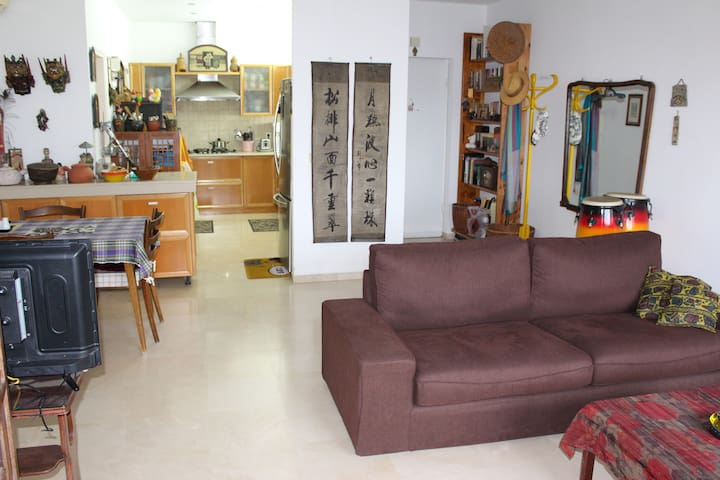 TLV  Excellent Flat and Location for 22 Aug-20 Nov