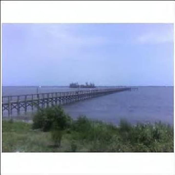 Community Fishing Pier and Beach Front property