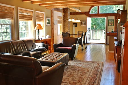 River View, Walk to Train, Close to Town - Rhinebeck - House
