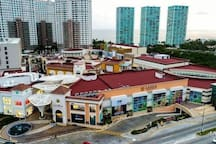Nicest Mall of Vallarta Across the street with VIP Movies