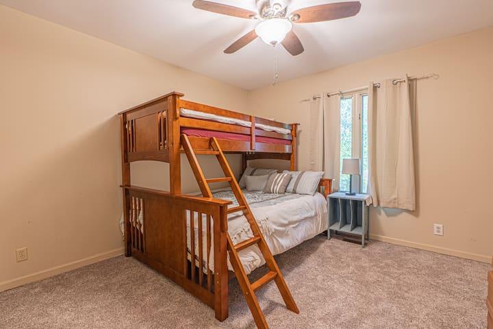 Bedroom 2 - Twin XL over Queen bunk