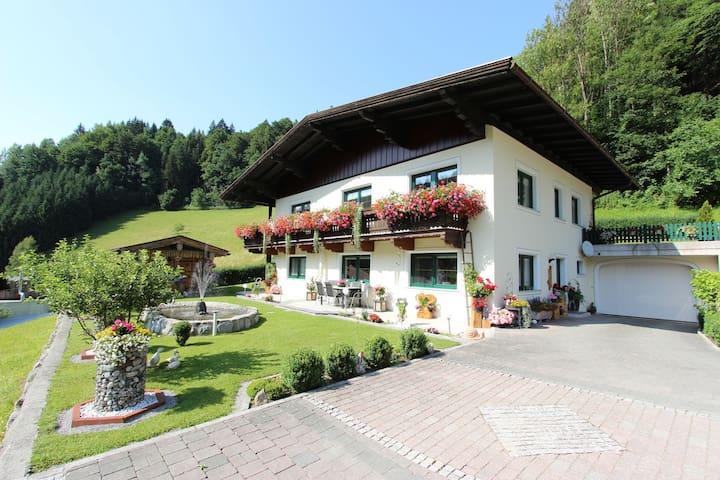 Quaint Apartment in Hopfgarten in Brixental near the River