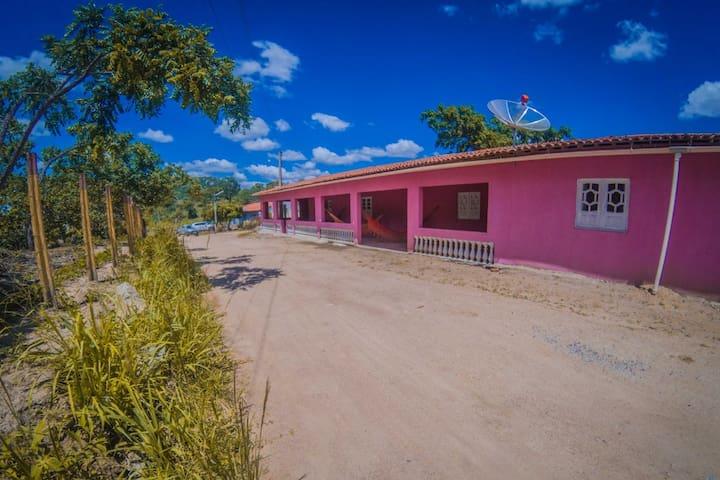 Casa Mobiliada - Espaço Inteiro