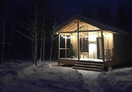 Микродом для семейного отдыха в эко-поселении