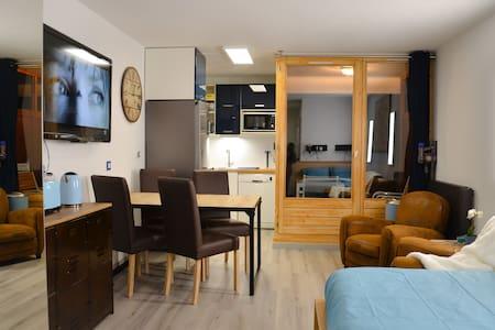 Studio Cosy Blue 100% rénové 29m2 ski & cure