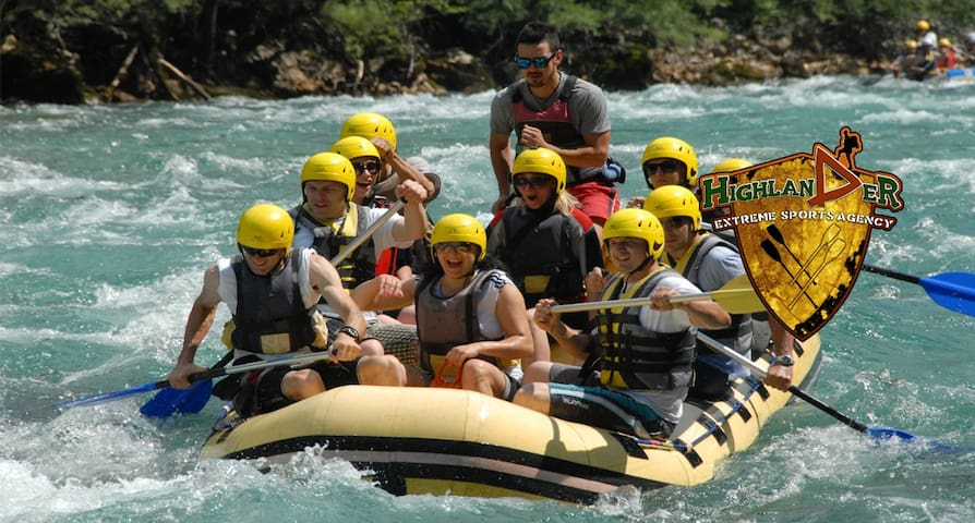Rafting Tara Camp Highlander - Foča - Bungalow